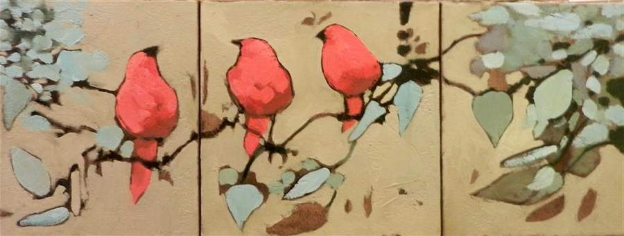 Most Recently Released Triptych Art For Sale Within Red Bird Triptych Mary Pratt (View 7 of 15)