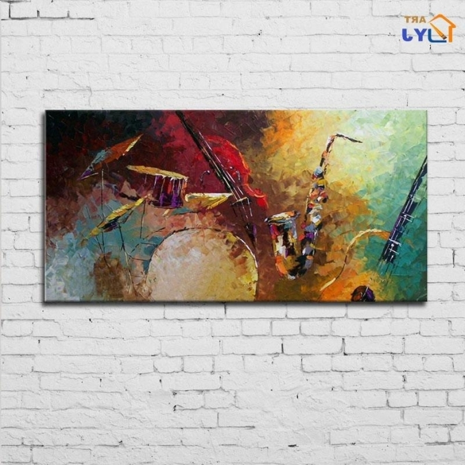 Most Recently Released Wall Art: Abstract Jazz Band Wall Art (#20 Of 20 Photos), Jazz Wall With Abstract Jazz Band Wall Art (View 7 of 15)