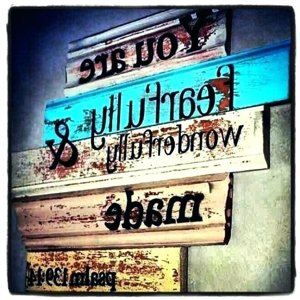 Most Recently Released Wooden Word Wall Art For Wood Art Quotes (View 4 of 15)