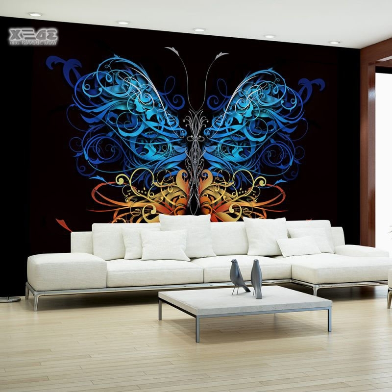 Most Up To Date 40 Stylish 3D Wallpaper For Living Room Walls, 3D Wall Murals, 3D Within 3D Wall Art Wallpaper (View 10 of 15)