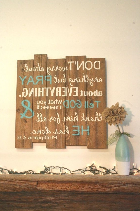 Most Up To Date Best 25 Inspirational Wall Art Ideas On Pinterest Inspirational Word Within Inspirational Wall Plaques (View 10 of 15)