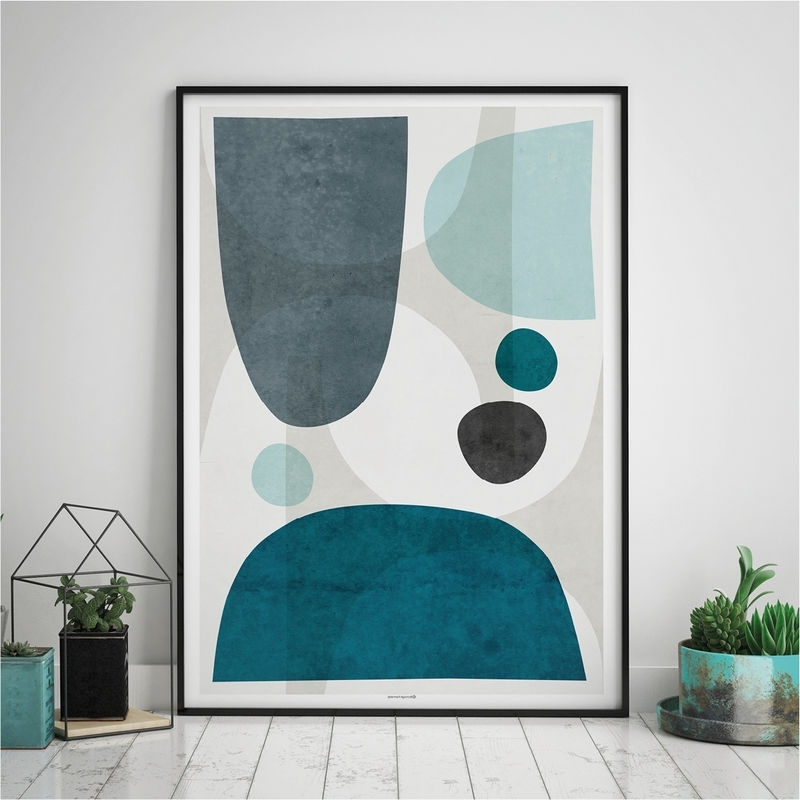 Most Up To Date Blue Abstract Wall Art – Living Room Art Blue – Large Abstract Wall Inside Abstract Wall Art For Living Room (View 15 of 15)