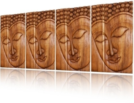 Most Up To Date Buddha Wood Wall Art In Wall Art Designs: Best Buddha Wood Wall Art Buddha Art Decor, Wood (View 13 of 15)