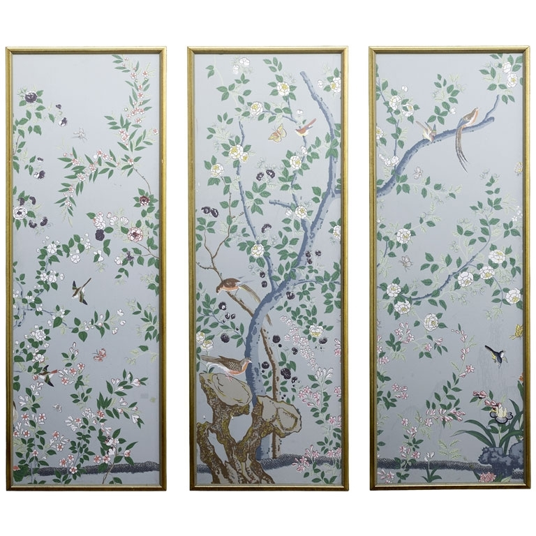 Most Up To Date Chinoiserie Panels – Clagett Inside Chinoiserie Wall Art (View 3 of 15)