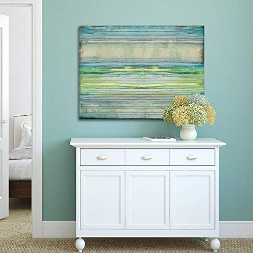 Most Up To Date Coastal Wall Art Canvas Pertaining To Coastal Wall Decor: Amazon (View 15 of 15)