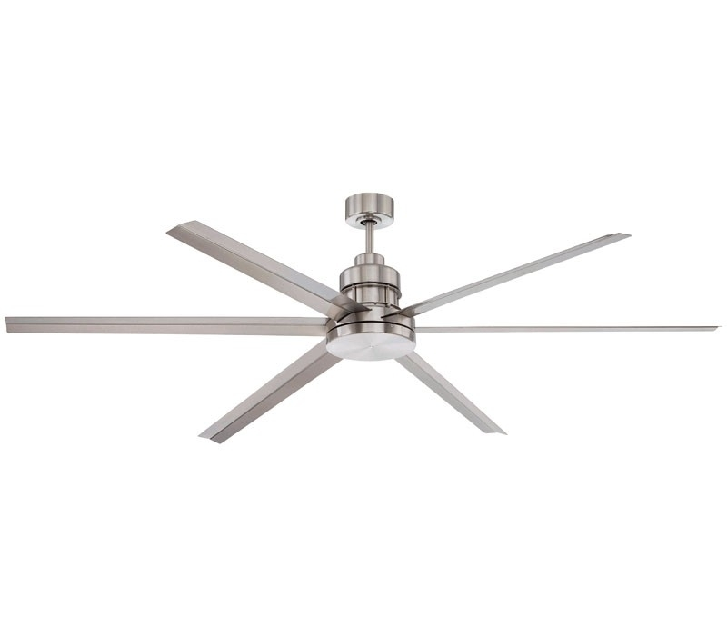 Most Up To Date Craftmade Mnd72Bnk6, Mnd54Bnk3, Mnd54Esp3, Mnd72Esp6 Mondo 6 Blade Intended For Outdoor Ceiling Fans With Aluminum Blades (View 4 of 15)