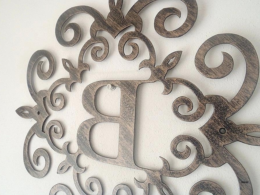 Most Up To Date Cream Metal Wall Art In Decoration: Large Metal Wall Art And Decor Lovely Decorative Letters (View 10 of 15)