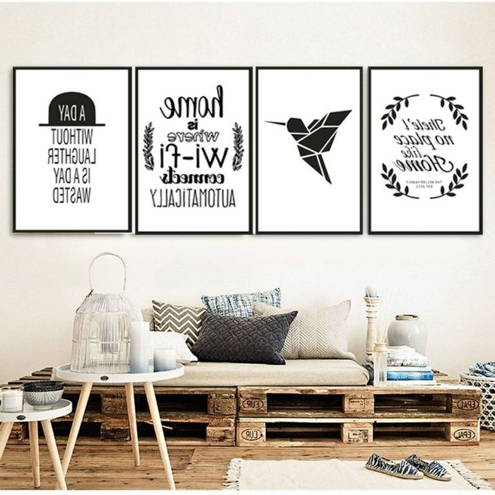 Most Up To Date Diy Canvas Wall Art Quotes Intended For (View 11 of 15)