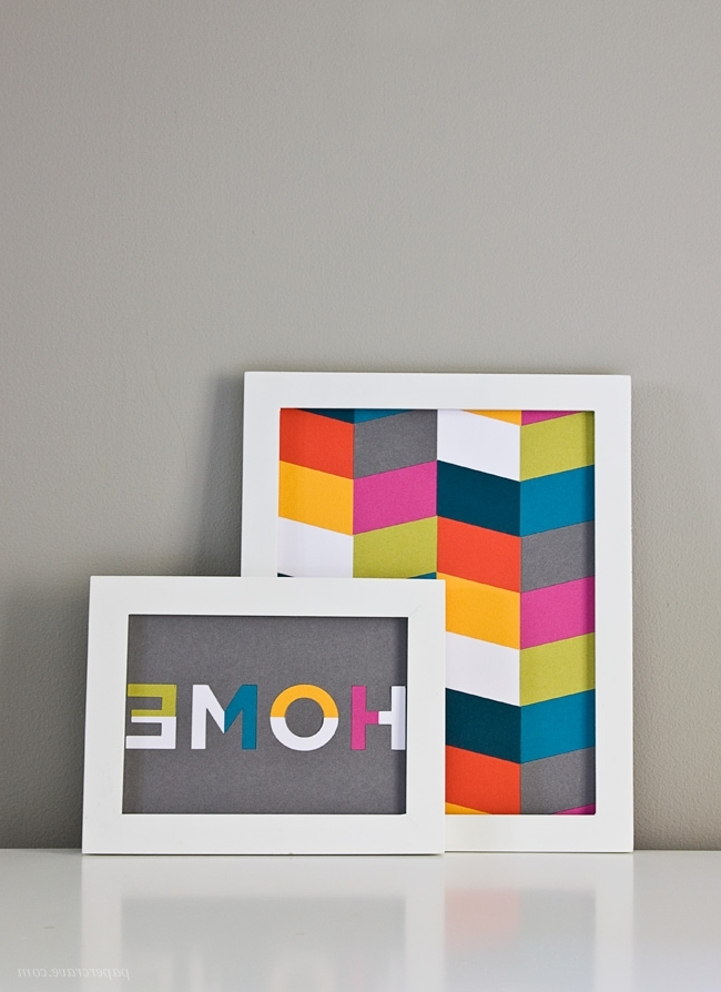 Most Up To Date Diy Die Cut Wall Art + Free Cut File Templates – Paper Crave For Cameo Wall Art (View 11 of 15)