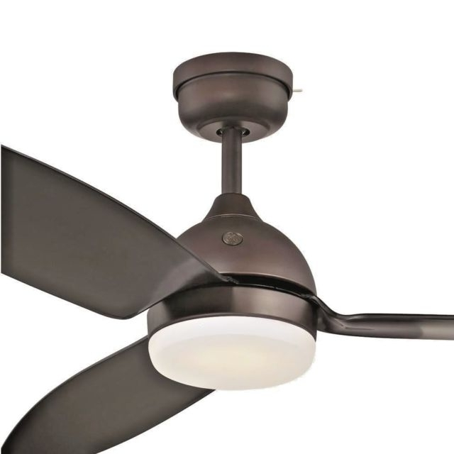 Most Up To Date Efficient Outdoor Ceiling Fans Inside Indoor Outdoor Ceiling Fan Light Kit Remote Control Energy Efficient (View 7 of 15)