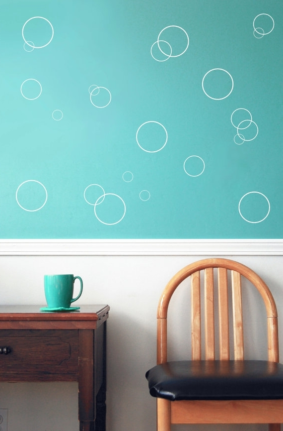 Most Up To Date Fish Decals For Bathroom With Regard To Bubble Wall Decals – Under Water Theme, Vinyl Wall Decals, Fish (View 2 of 15)