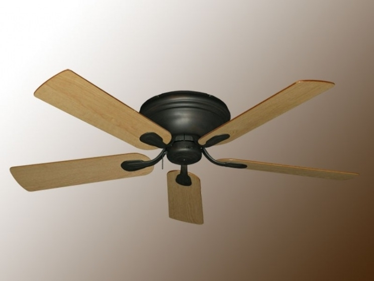 Most Up To Date Flush Mount Outdoor Ceiling Fans For Outdoor (View 3 of 15)