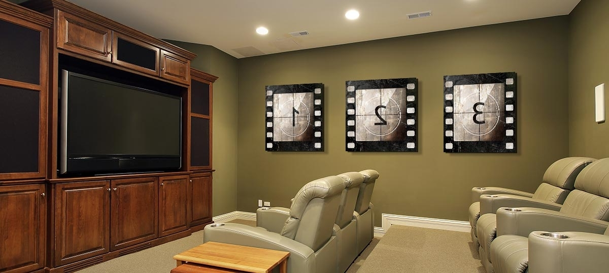 Featured Photo of Home Theater Wall Art