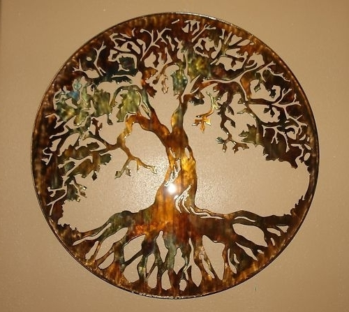 Most Up To Date Interesting Inspiration Tree Of Life Wall Decor Room Decorating With Regard To Bronze Tree Wall Art (View 11 of 15)