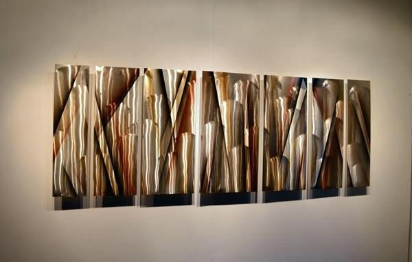 Most Up To Date Large Abstract Metal Wall Art With Abstract Metal Wall Art Modern And Contemporary Sculptures Decor (View 14 of 15)