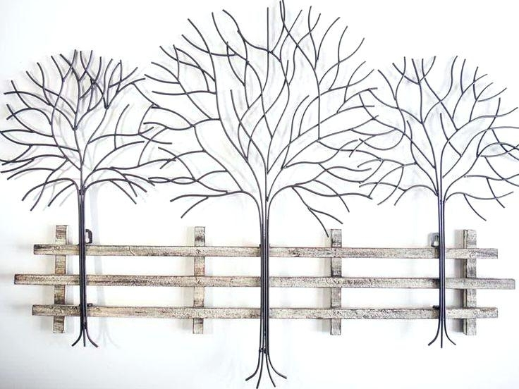 Most Up To Date Metal Tree Wall Art Metal Tree Wall Art Decor Home Design Ideas Within Metal Tree Wall Art Sculpture (View 8 of 15)