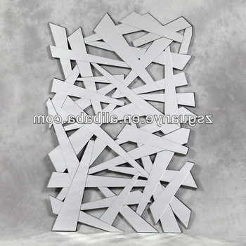 Most Up To Date Mirrors Modern Wall Art Inside Contemporary Modern Shatter Wall Art Mirrors – Buy Modern Decorative (View 14 of 15)