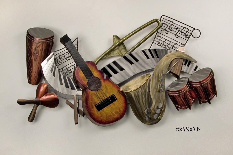 Most Up To Date Music Metal Wall Art With Serene Music Metal Wall Art (View 3 of 15)
