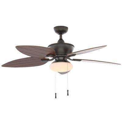 Most Up To Date Outdoor Ceiling Fans For Coastal Areas With Indoor/outdoor – Coastal – Ceiling Fans – Lighting – The Home Depot (View 9 of 15)