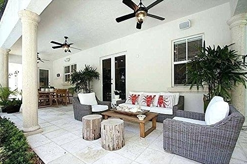 Most Up To Date Outdoor Ceiling Fans For Patios With Regard To Outside Ceiling Fans Amazing Patio Ceiling Fans Exterior Remodel (View 10 of 15)