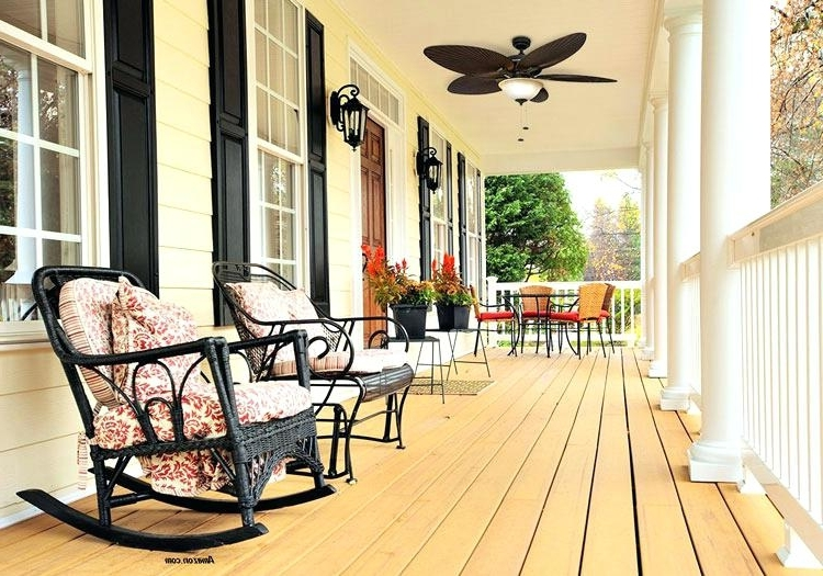 Most Up To Date Outdoor Ceiling Fans For Porches Within Outdoor Ceiling Fan Porch Fan Contemporary Ceiling Fan Porch Fans (View 8 of 15)