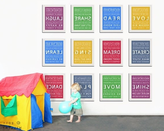 Most Up To Date Playroom Wall Art In Wall Art For Kids Playroom – Elitflat (View 5 of 15)