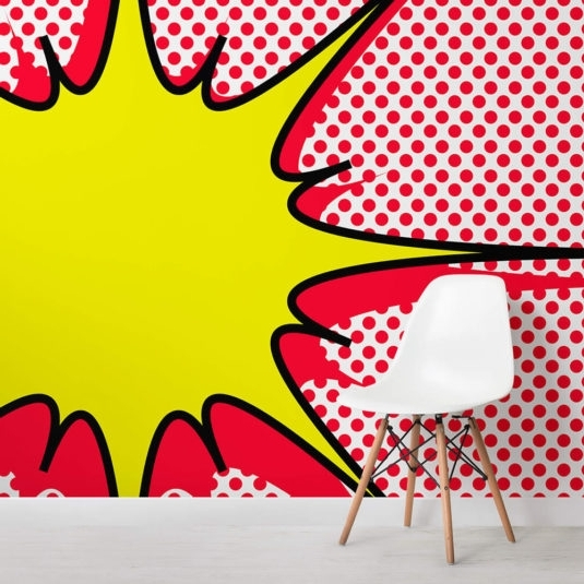 Most Up To Date Pop Art Wallpaper & Wall Murals (View 2 of 15)