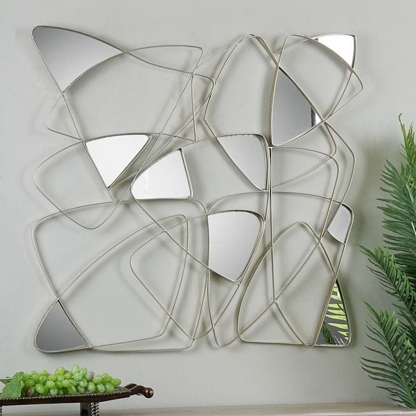 Most Up To Date Shop Uttermost Oswin Abstract Mirrored Wall Art – Free Shipping With Abstract Mirror Wall Art (View 9 of 15)