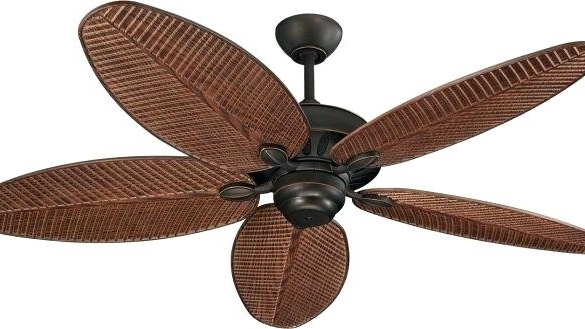 Most Up To Date Tropical Design Outdoor Ceiling Fans With Regard To Simplified Tropical Outdoor Ceiling Fans Curb Cruise Trends With (View 11 of 15)