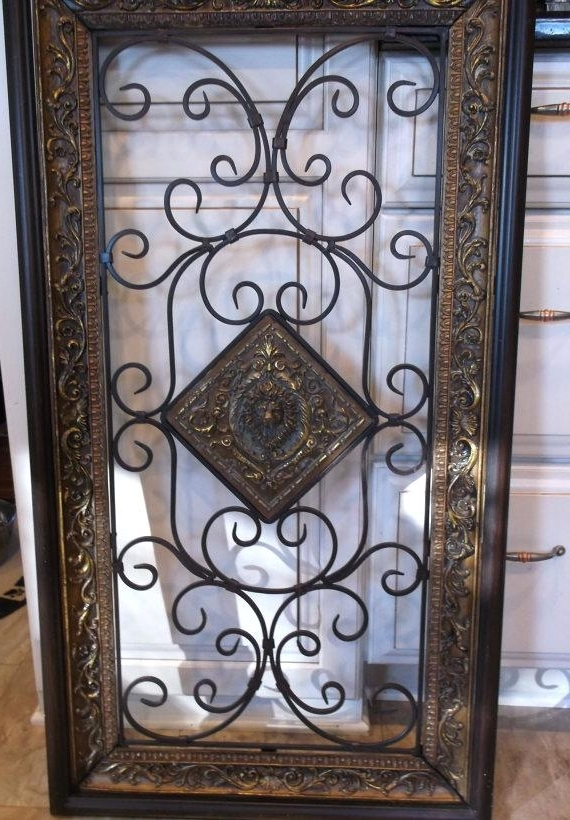 Most Up To Date Tuscan Wrought Iron Wall Art Wrought Iron Wall Decor Best Wrought With Regard To Tuscan Wrought Iron Wall Art (View 3 of 15)