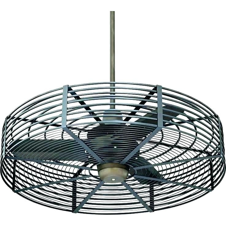 Most Up To Date Vintage Look Outdoor Ceiling Fans In Mesmerizing Industrial Ceiling Fans With Light – Vicres (View 9 of 15)