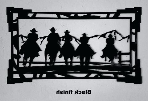 Most Up To Date Western Metal Wall Art Silhouettes Within Western Metal Wall Art Metal Wall Art Western Boots Western Metal (View 5 of 15)