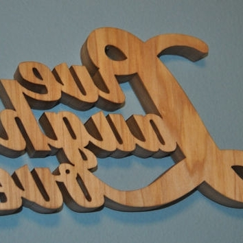 Most Up To Date Wooden Words Wall Art With Regard To Best Wooden Word Decor Products On Wanelo (View 7 of 15)