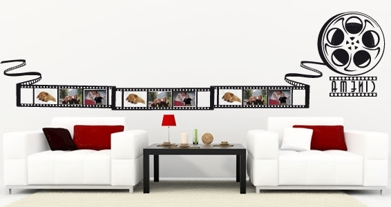 Movie Reel Wall Art Decor — Authorized Decor Regarding Favorite Film Reel Wall Art (View 15 of 15)