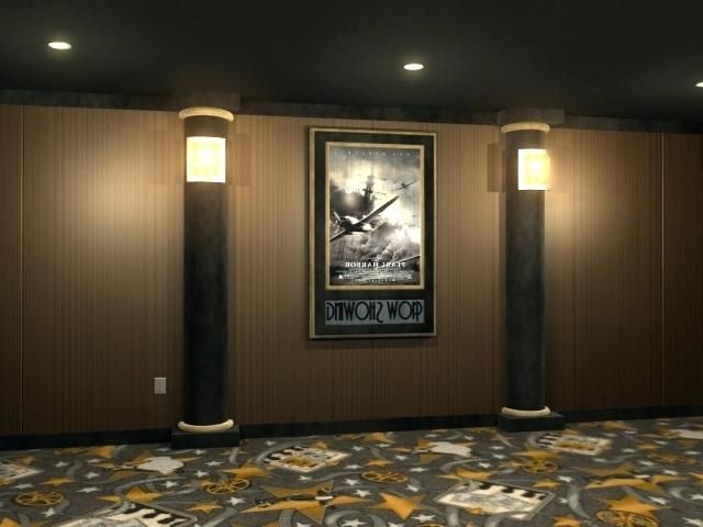 Movie Theater Wall Decor Movie Theater Wall Art Home Theater Wall Throughout Favorite Home Theater Wall Art (View 15 of 15)