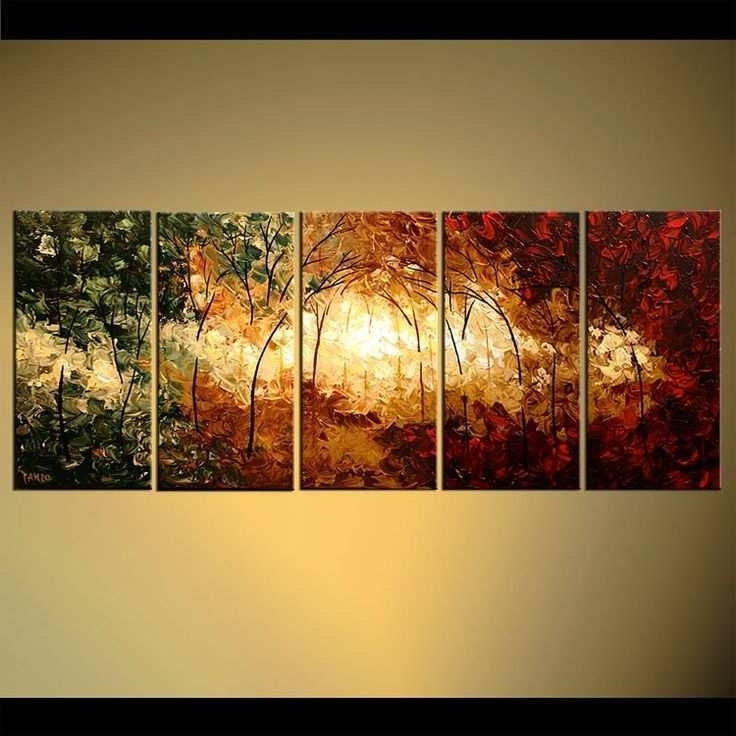 Multiple Canvas Paintings Fresh Multiple Canvas Wall Art Ideas Pertaining To Well Known Multi Canvas Wall Art (View 12 of 15)