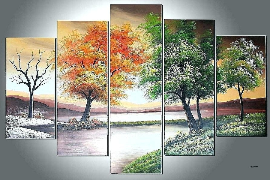 Multiple Piece Wall Art With Regard To 2018 Multiple Piece Canvas Wall Art 5 Piece Canvas Art Multiple Piece (View 8 of 15)