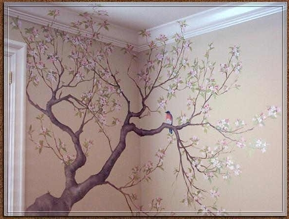 Murals, Wall Papers And Wallpaper (View 13 of 15)