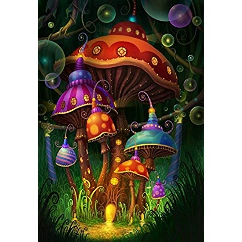 Mushroom Wall Art: Amazon For Fashionable Mushroom Wall Art (View 9 of 15)