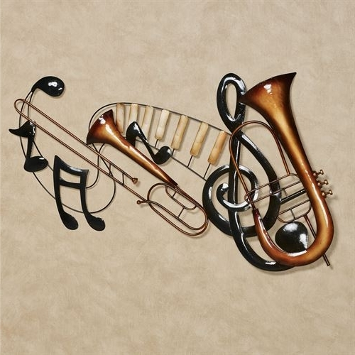 Music Metal Wall Art Regarding Favorite Musical Interlude Metal Wall Art (View 8 of 15)