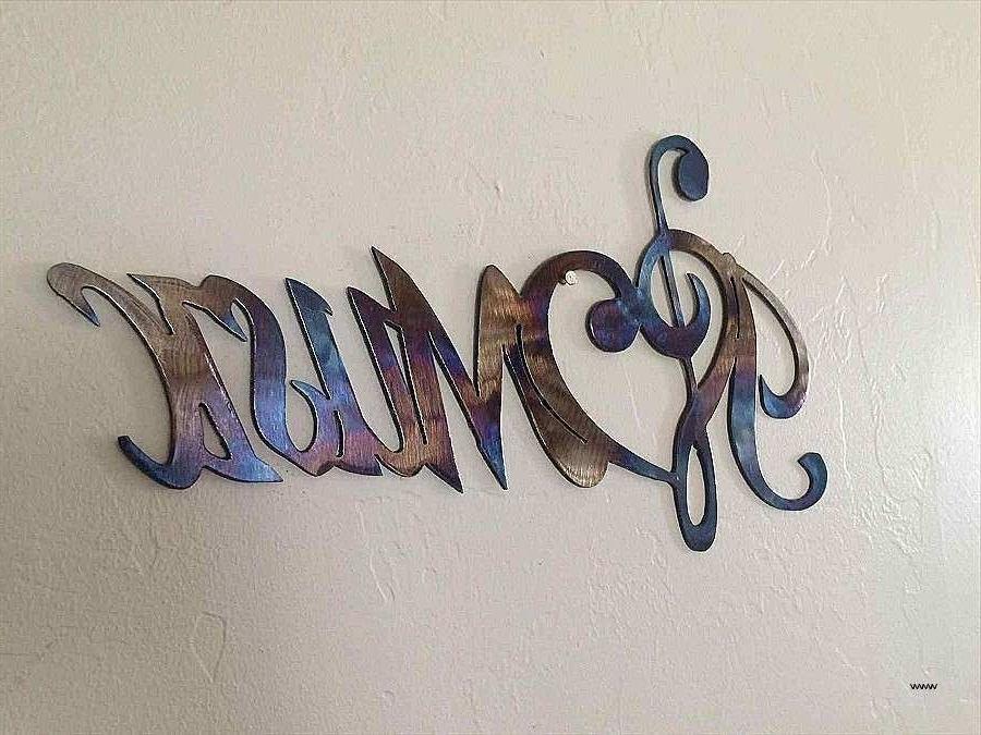 Music Note Metal Wall Art Beautiful Metal Music Notes Wall Decor With Famous Metal Music Wall Art (View 10 of 15)