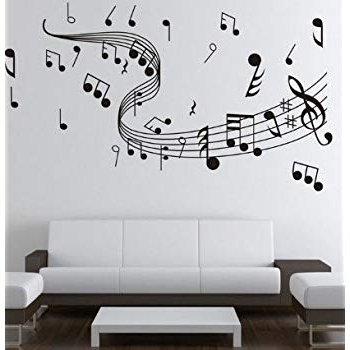 Featured Photo of Music Note Wall Art Decor