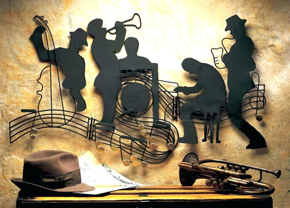 Music Wall Art Music Notes Design Wall Art Decal Music Themed Canvas Within Well Liked Metal Music Notes Wall Art (View 14 of 15)