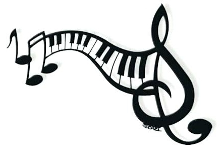 Music Wall Art Musical Notes Wall Decoration Keyboard Wall Art Music For Preferred Metal Music Wall Art (View 14 of 15)
