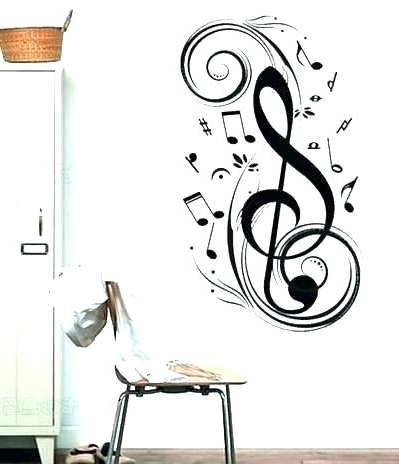 Music Wall Art Musical Wall Art Music Note Wall Decor Metal Musical Within Most Recent Music Note Wall Art Decor (View 8 of 15)