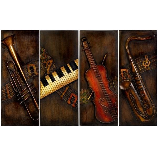 Music Wall Art Regarding Preferred Musical Instrument Wall Art (View 9 of 15)