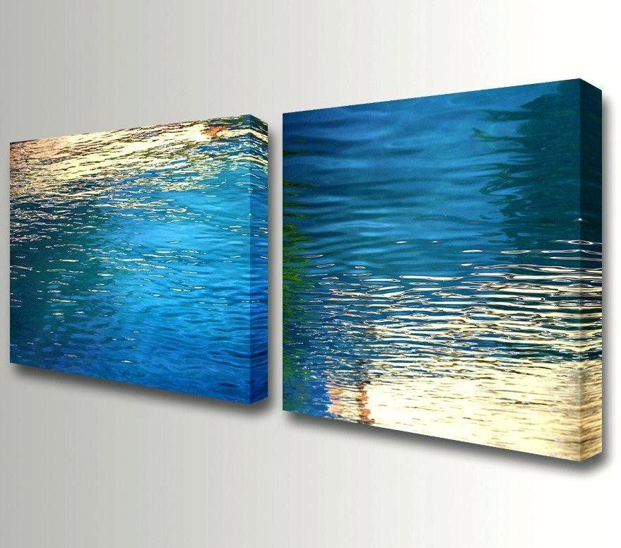Nautical Canvas Wall Art Regarding Most Up To Date Wall Art Beach Water Wall Decor Of Worthy Canvas Art Nautical Wall (View 11 of 15)