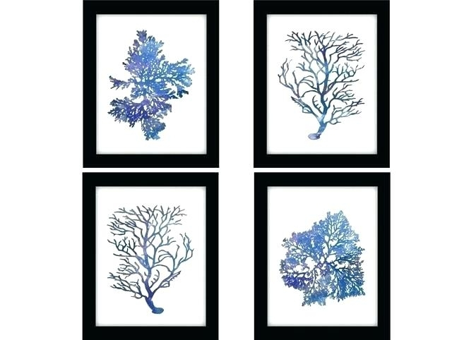 Navy Blue Wall Art Navy Blue Wall Art Navy And White Wall Art Art With Regard To Fashionable Blue And White Wall Art (View 5 of 15)