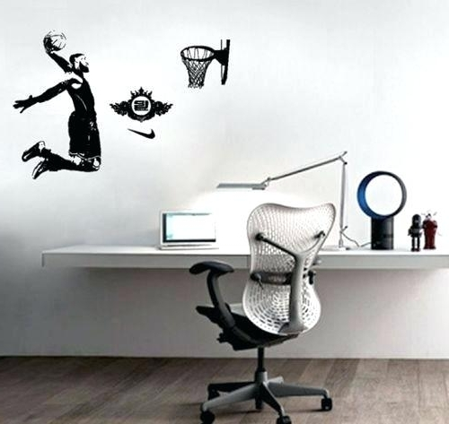 Nba Wall Murals Regarding Well Known Nba Wall Art Online Buy Wholesale Wall Decals From China Wall Decals (View 8 of 15)