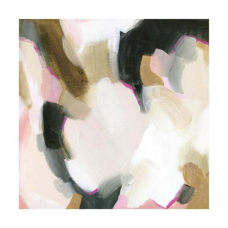 Neutral Abstract Wall Art With Most Current Neutral Abstract Composition Art (View 13 of 15)
